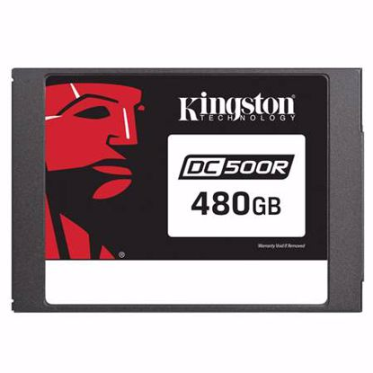 Fotografija izdelka KINGSTON Data Center DC500 Enterprise (Read-Centric) 480GB 2,5'' SATA3 NAND 3D TLC (SEDC500R/480G) SSD
