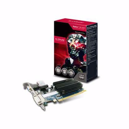 Fotografija izdelka SAPPHIRE Radeon R5 230 1GB GDDR3 Lite Silent Low Profile (11233-01-20G) grafična kartica