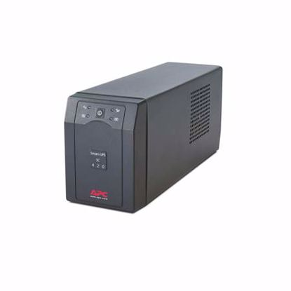 Fotografija izdelka APC SMART-UPS SC620I Line-Interactive 620VA 390W UPS brezprekinitveno napajanje