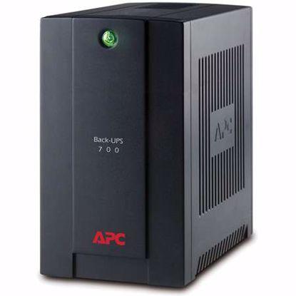Fotografija izdelka APC Back-UPS BX700UI offline 700VA 390W 4xIEC UPS brezprekinitveno napajanje