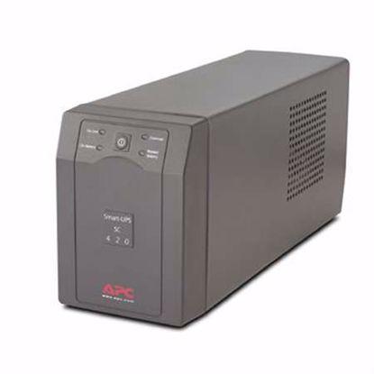 Fotografija izdelka APC Smart-UPS SC420 Line-Interactive 420VA 260W UPS brezprekinitveno napajanje