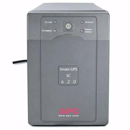 Fotografija izdelka APC Smart-UPS SC 620VA 120V (SC620) brezprekinitveno napajanje