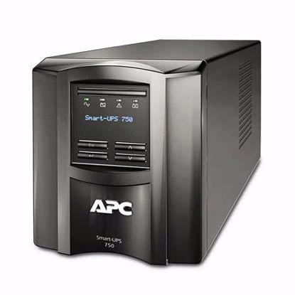 Fotografija izdelka APC SMART-UPS SMT750IC Line-Interactive 750VA LCD 230V SmartConnect UPS brezprekinitveno napajanje