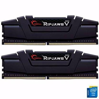 Fotografija izdelka G.SKILL Ripjaws V 16GB (2x8GB) 3600MHz DDR4 CL16-19-19-39 (F4-3600C16D-16GVKC) ram pomnilnik