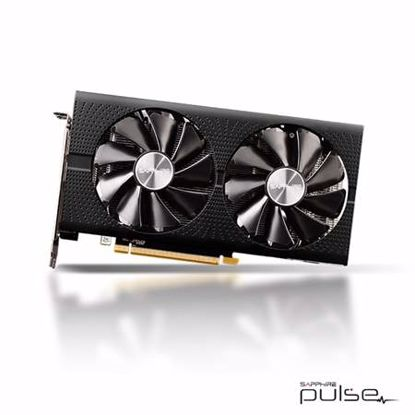 Fotografija izdelka SAPPHIRE PULSE Radeon RX 570 OC 8GB GDDR5 (11266-66-20G) HDMI/DP gaming grafična kartica