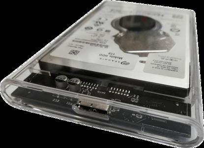 Fotografija izdelka Argus zunanji trdi disk 1TB 6,35cm, USB3.0, prozoren