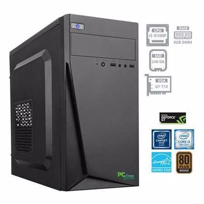 Fotografija izdelka PCPLUS Storm i3-9100F 8GB 240 GB SSD GeForce GT710 2GB W10