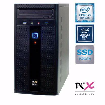 Fotografija izdelka PCX EXAM  G2830 (i3-8100/8GB/SSD 240GB/HD630) DOS