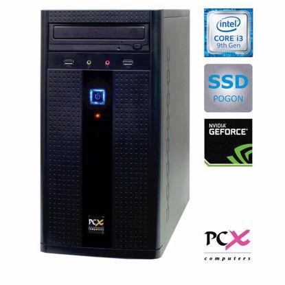 Fotografija izdelka PCX EXAM G2027F (I3-9100F/8GB/SSD240 GB/NV1030 2GB) DOS
