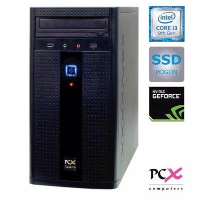Fotografija izdelka PCX EXAM G2027F (I3-9100F/8GB/SSD240 GB/NV1030 2GB) W10PRO