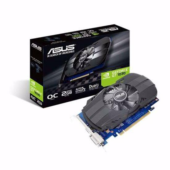 Fotografija izdelka ASUS Phoenix GeForce GT 1030 2GB GDDR5 (PH-GT1030-O2G) grafična kartica