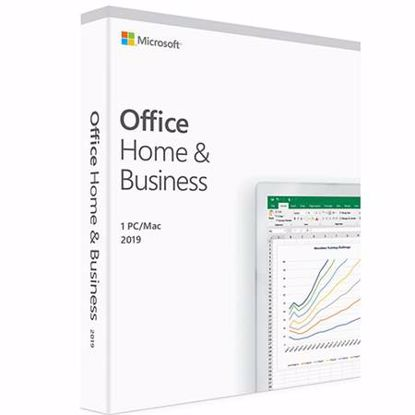 Fotografija izdelka MICROSOFT Office Home & Business 2019 slovenski FPP (T5D-03212) za Windows 10
