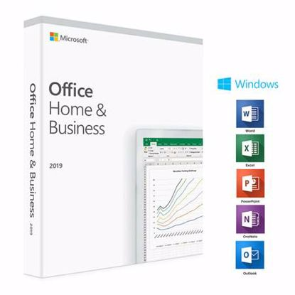 Fotografija izdelka MICROSOFT Office Home & Business 2019 angleški FPP (T5D-03216) za Windows 10