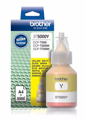 Fotografija izdelka Brother Kartuša BT5000Y, yellow, 5.000 strani DCPT3x0, DCPT5x0W, DCPT7x0W, MFCT910DW
