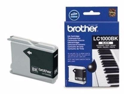 Fotografija izdelka Brother Kartuša LC1000BK, črna, 500 strani DCP130/330c MFC240C