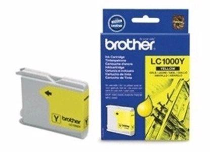 Fotografija izdelka Brother Kartuša LC1000Y, yellow, 400 strani DCP130/330c MFC240C