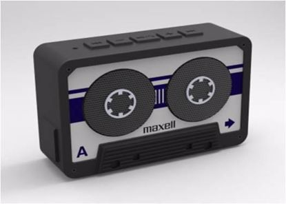 Fotografija izdelka Maxell Brezžični zvočnik BT 90 srebrn