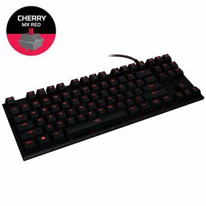 Fotografija izdelka HYPERX Alloy FPS Pro (HX-KB4RD1-US/R2 MX Red) žična osvetljena črna slo tisk mehanska tipkovnica