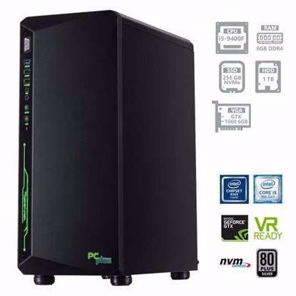 Fotografija izdelka PCPLUS Gamer i5-9400F 8GB 256GB NVMe SSD + 1TB HDD GTX1660 6GB W10PRO + OFFICE 2019 Home&Business
