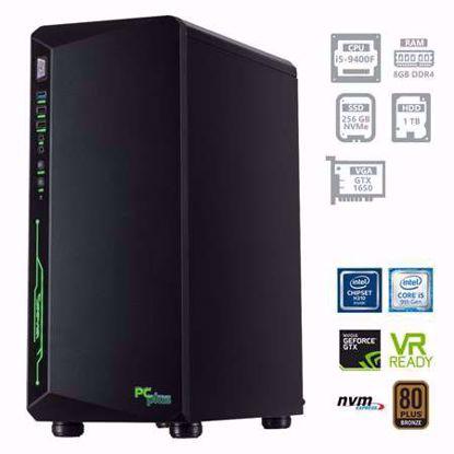 Fotografija izdelka PCPLUS Gamer i5-9400F 8GB 256GB SSD NVMe + 1TB HDD GTX1650 4GB W10PRO