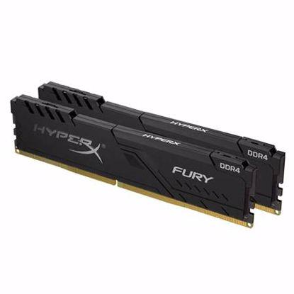 Fotografija izdelka KINGSTON HyperX Fury 16GB (2x8GB) 2666MHz DDR4 (HX426C16FB3K2/16) ram pomnilnik