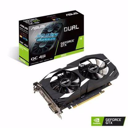 Fotografija izdelka ASUS Dual GeForce GTX 1650 OC 4GB GDDR5 (DUAL-GTX1650-O4G) gaming grafična kartica