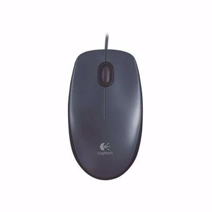 Fotografija izdelka LOGITECH M100 USB optična črna miška