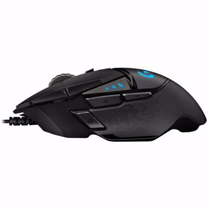 Fotografija izdelka LOGITECH G502 HERO RGB USB optična gaming črna miška