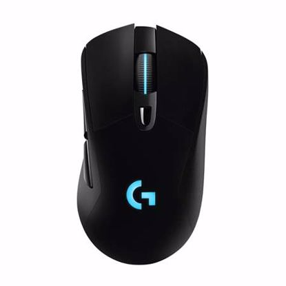 Fotografija izdelka LOGITECH G703 Lightspeed Hero brezžična optična gaming RGB črna miška