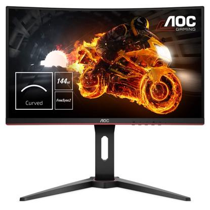 Fotografija izdelka AOC C24G1 24'' ukrivljen monitor