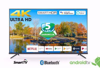 """Fotografija izdelka LED TV TCL 55"""" (diagonala 140cm) 55EP660, 4K-UHD, HDR Smart, Android 9.0, Pameten, WiFi, 10bit, Micro Dimming,  Ultra tanko metalno titanium ohišje"""