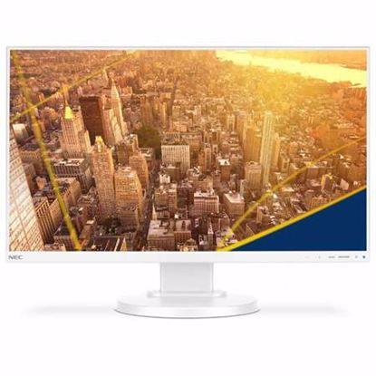 "Fotografija izdelka NEC MultiSync E241N 60,96cm (24"") FHD IPS zvočniki LED LCD bel monitor"