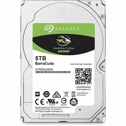 Fotografija izdelka SEAGATE BarraCuda 5TB 2,5'' SATA3 128MB 5400rpm (ST5000LM000) trdi disk