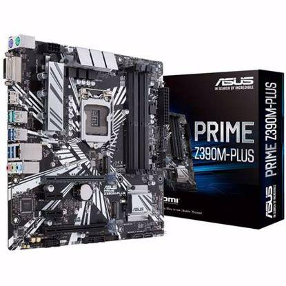 Fotografija izdelka ASUS PRIME Z390M-PLUS LGA1151 (9th/8th-gen) mATX DDR4 USB3.1-gen2 matična plošča