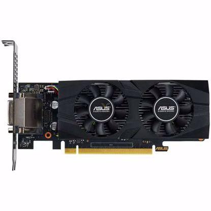 Fotografija izdelka ASUS GeForce GTX 1650 OC 4GB GDDR5 (GTX1650-O4G-LP-BRK) low profile grafična kartica