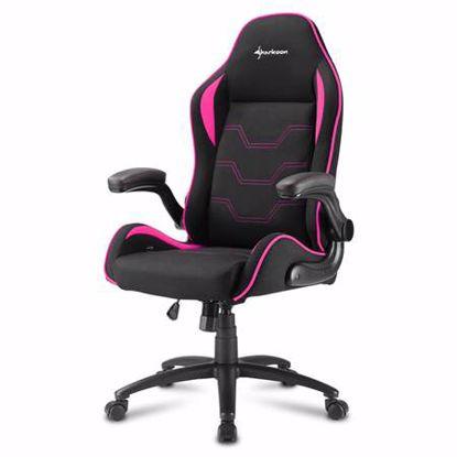 Fotografija izdelka SHARKOON ELBRUS 1 črn/roza gaming stol