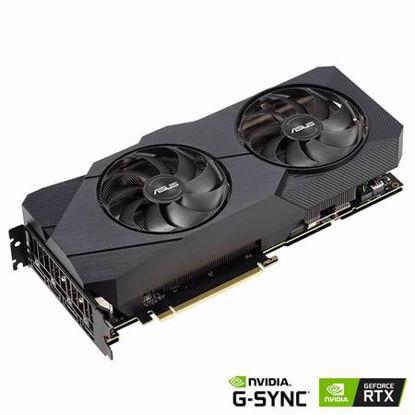 Fotografija izdelka ASUS Dual GeForce RTX 2080 SUPER EVO V2 8GB GDDR6 (DUAL-RTX2080S-8G-EVO-V2) grafična kartica