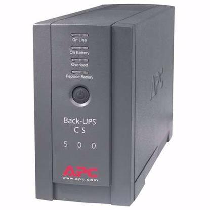 Fotografija izdelka APC Back-UPS 500 BK500BLK 500VA 300W 120V UPS brezprekinitveno napajanje