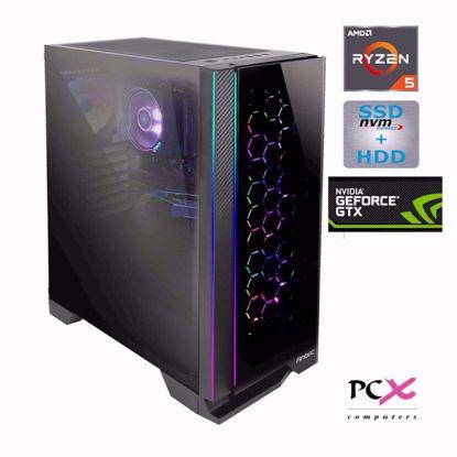 Fotografija izdelka PCX EXON EX5 R5 3600X/8GB/S250GB/2TB/GTX1660 SUPER 6GB W10PRO