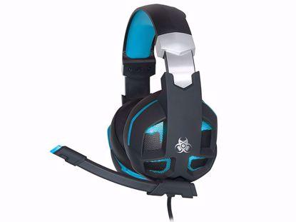 Fotografija izdelka Slušalke Gaming TRACER GAMEZONE Striker 2.0 Blue USB