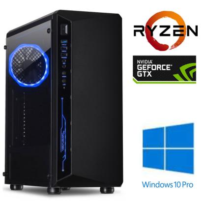 Fotografija izdelka @Gamer Ryzen5 3600 / 16GB / SSD 250GB  NVMe / HDD 2TB / GTX 1660-6GB / W10PRO