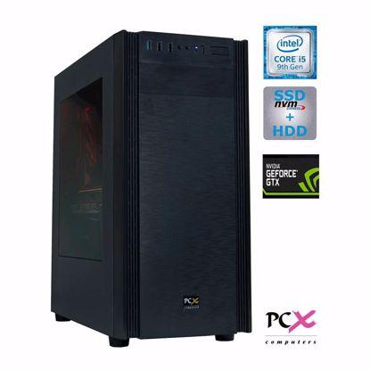 Fotografija izdelka Namizni računalnik PCX EXTIAN I5-9400F/8GB/SSD256GB/2TB/GTX1660Ti