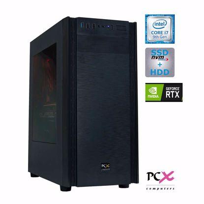 Fotografija izdelka Namizni računalnik PCX EXTIAN i7-9700KF/16GB/SSD500GB/2TB/RTX2070-8GB SUPER