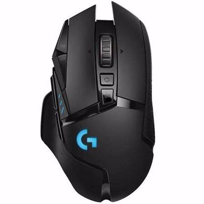 Fotografija izdelka LOGITECH G502 LIGHTSPEED brezžična optična RGB črna gaming miška