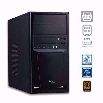 Fotografija izdelka PCPLUS e-office i7-8700 8GB 240GB SSD W10PRO
