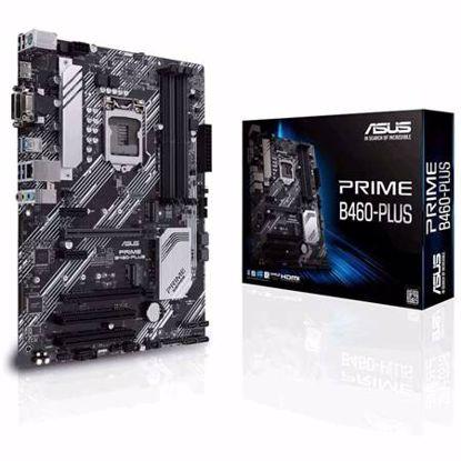 Fotografija izdelka ASUS PRIME B460-PLUS LGA1200 (10th-gen) ATX DDR4 matična plošča