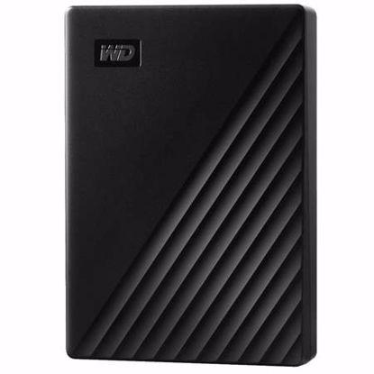 Fotografija izdelka WD My Passport 5TB USB 3.2 (WDBPKJ0050BBK-WESN) črn zunanji trdi disk
