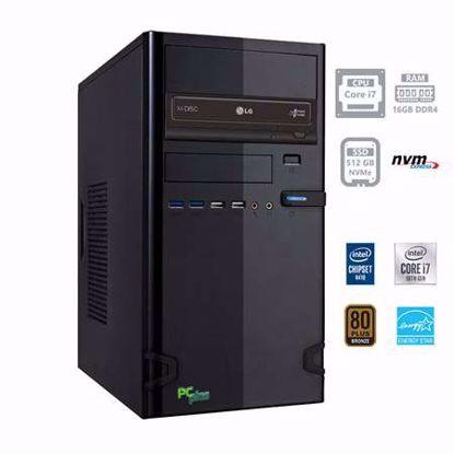 Fotografija izdelka PCPLUS e-office i7-10700 16GB 512GB NVMe SSD W10