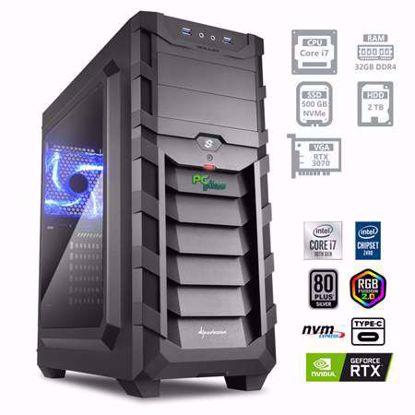 Fotografija izdelka PCPLUS Dream machine i7-10700 32GB 500GB NVMe SSD 2TB HDD GeForce RTX 3070 8GB RGB W10PRO
