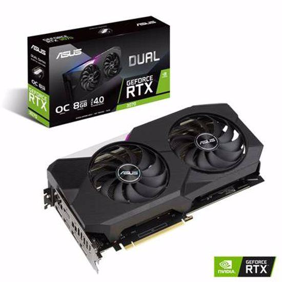 Fotografija izdelka ASUS GeForce RTX 3070 OC 8GB GDDR6 (DUAL-RTX3070-O8G) gaming grafična kartica